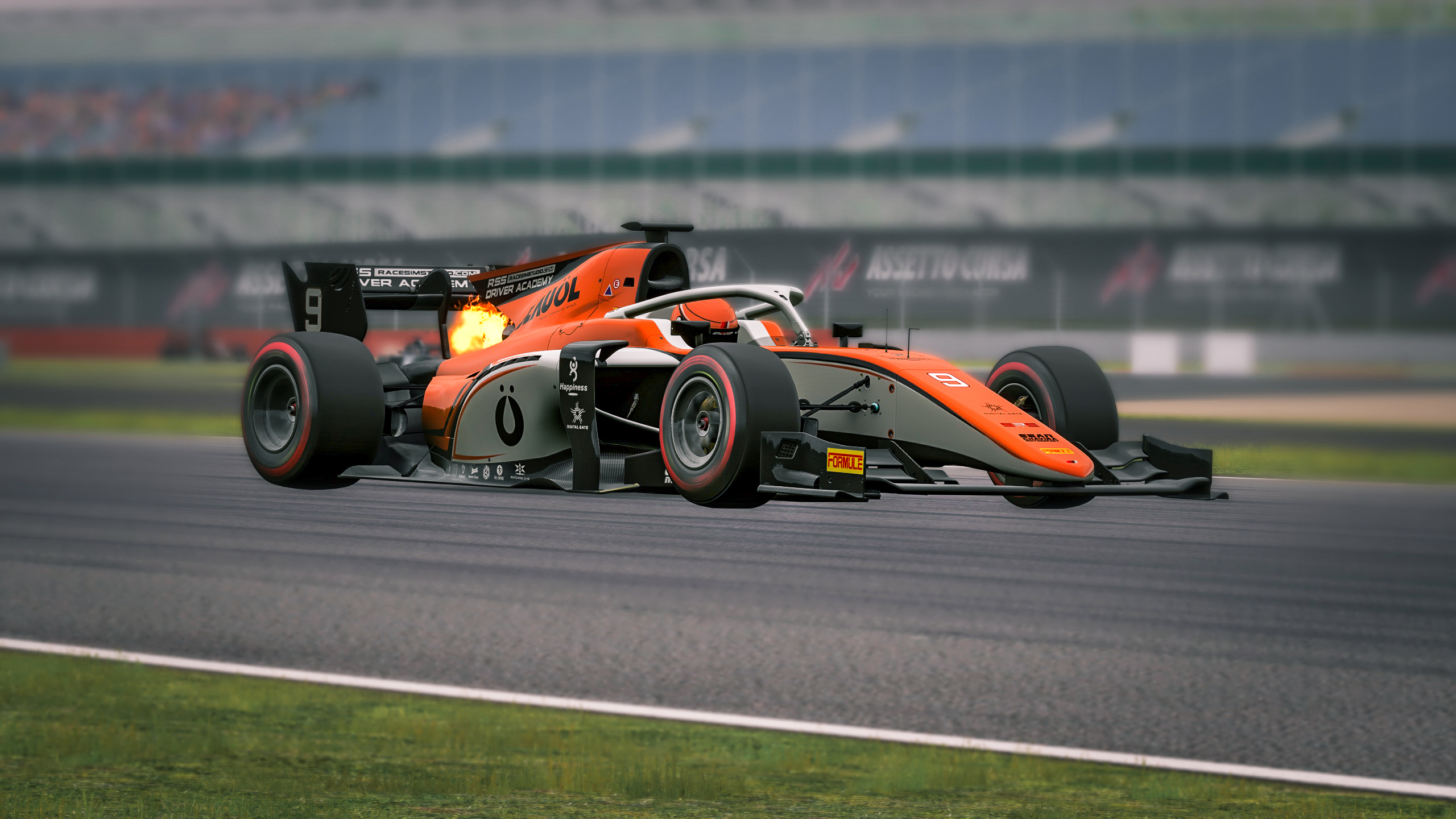 RSS 2018 Formula 2 Car Mod for Assetto Corsa [Formula RSS 2