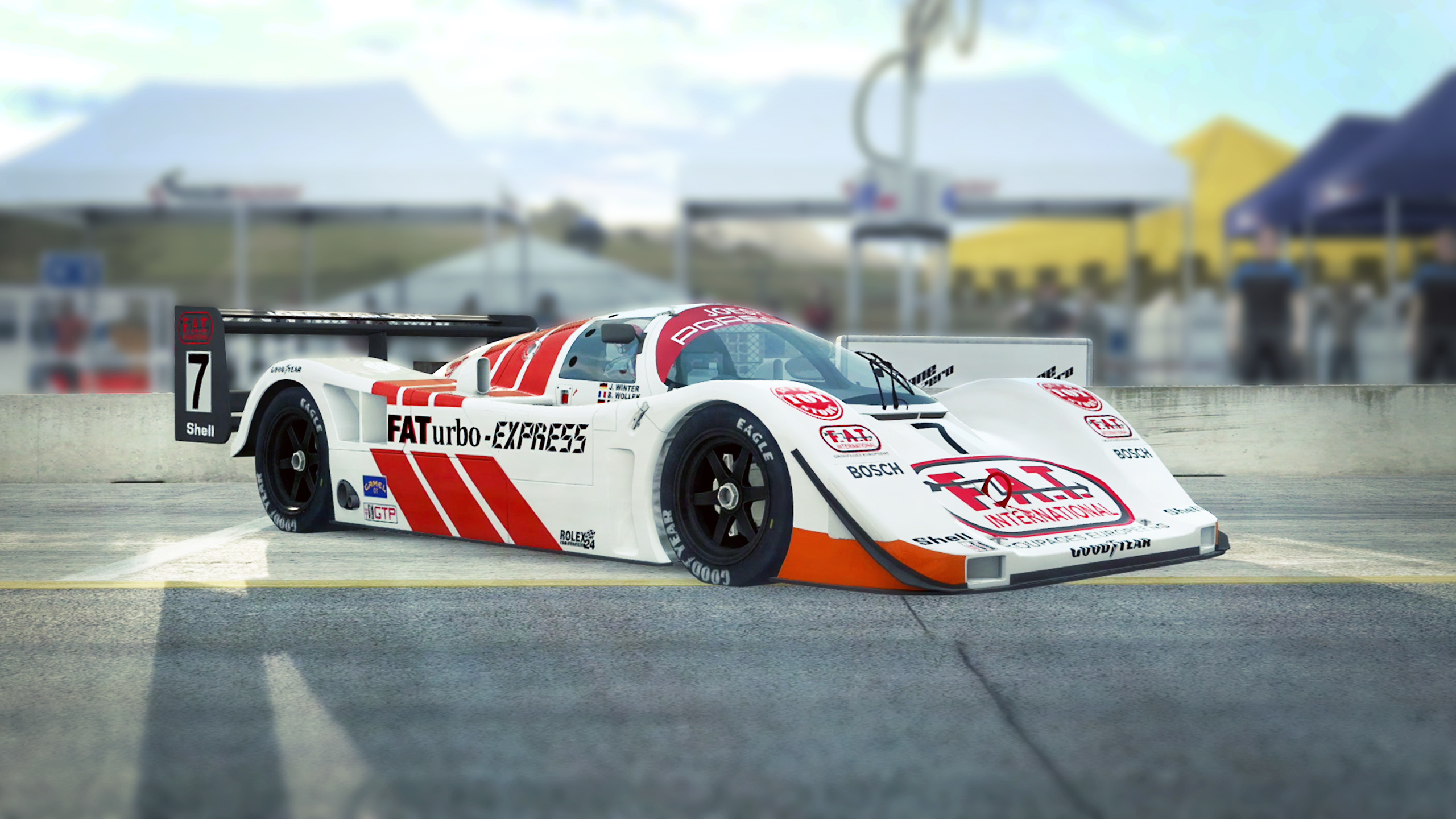 RaceRoom Group C Nissan R90CK & Joest Porsche 962 [Preview]