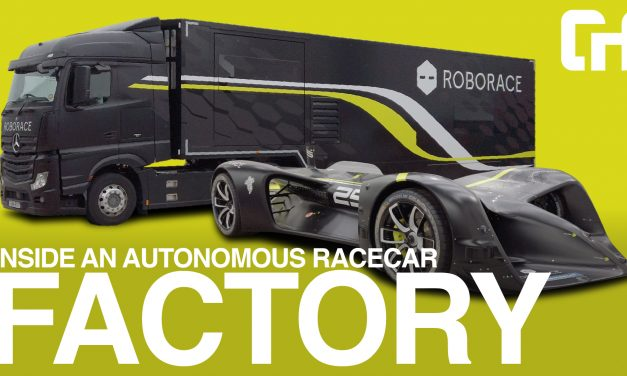 Inside the Factory building the World's Fastest Autonomous Racing Car